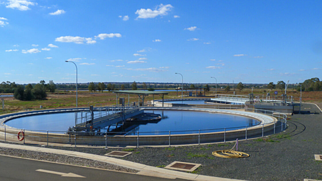 Rural water treatment plant